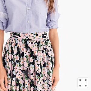 J. Crew Point Sur maxi skirt in French floral